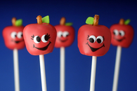 Diy apple cake pops
