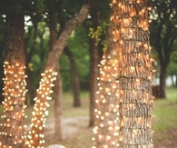 Outdoor Evening Party Idea