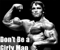 Arnold gives men motivation
