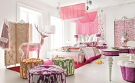 Gorgeous Pink Bedroom for Teenage Girl