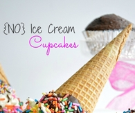 No Ice Ream Cupcakes