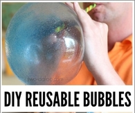 DIY Reusable Bubbles