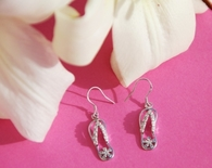 Pink Flip Flop Earrings