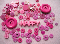 Happy Pink Buttons