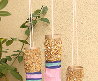 Bird feeder Toilet Paper Tube Craft