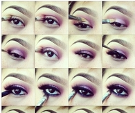 DIY Purple Eye Shadow