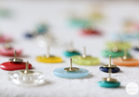 DIY Button Thumb Tacks