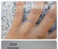 Wire Knot Ring DIY