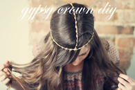 Gypsy Crown DIY