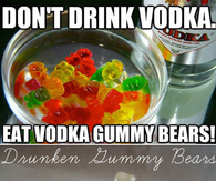 DIY Vodka Gummy Bears