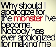 why should i apologize