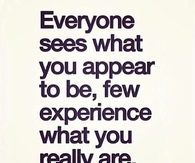 Everyone Sees What You Appear