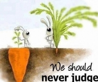 We should Never Judge