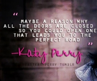 Katy Perry Perfect Road