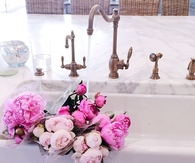 Flowers in the bath