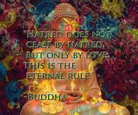 Love stops hatred