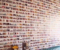 Instax wall art