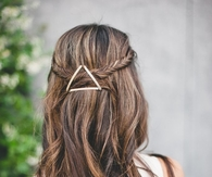 Triangle hair design