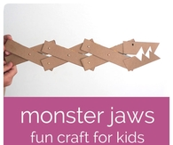 Monster Jaw Craft for Kids