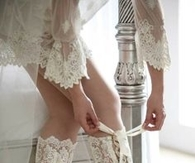White Lace Wedding Boots