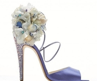 Pretty Lavender Bridal Shoes
