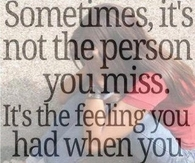 Sometimes Its Not the Person