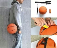 DIY Basketball Bag