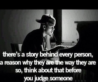 Story Behind Every Person
