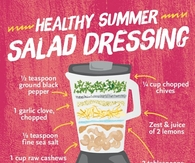 Healthy Summer Salad Dressings