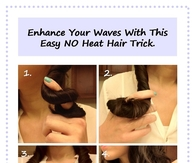 DIY Hair Waves