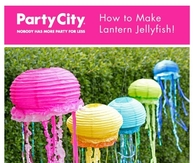 DIY Lantern Jelly Fish