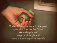 Starting a new chapter in life
