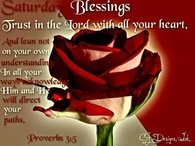Saturday Blessings