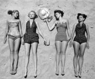 1940's Beach Beauties