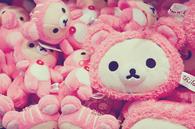 Stuffed Pink Kawaii Bears