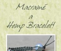 DIY Macrame Hemp Bracelet