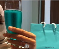 Turquoise champagne