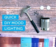 DIY Quick Mood Lighting