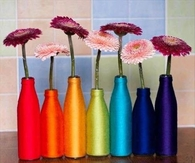 DIY Yarn Bottles