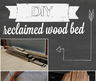 DIY Wood Bed