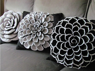 Floral pillow patterns
