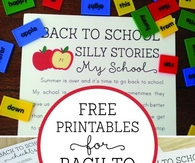 Free Printables Back to School