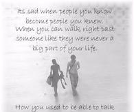its sad when