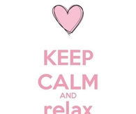 Keep calm and relax its friday