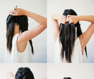 DIY Interwoven Braid
