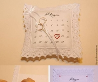 DIY Wedding Cushion Rings