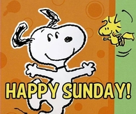 Snoopy Happy Sunday