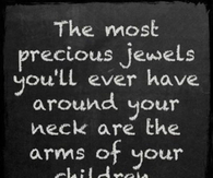 the arms of your child