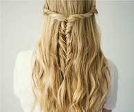 DIY Twisted Fishtail