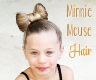 Minnie Mouse Hair Tutorial